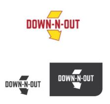 Down-n-Out infringing trade marks
